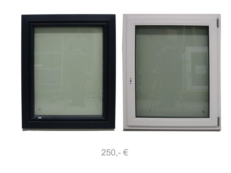 Kunststofffenster hellgrau  Angebote Ausstellungsstücke