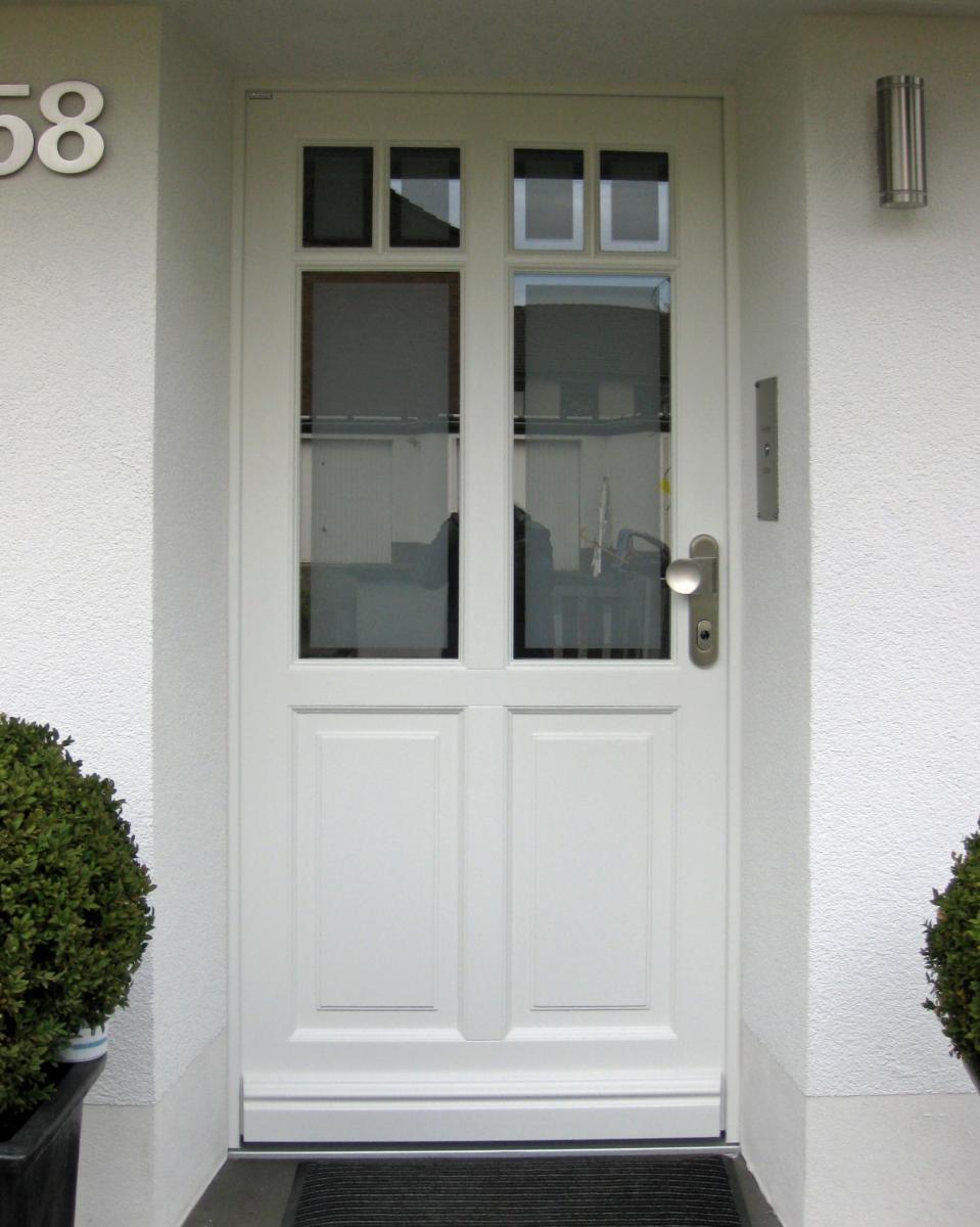 Amüsant Haustüren Bilder Referenz Von Holz Tür Mit Sprossen / Wermelskirchen