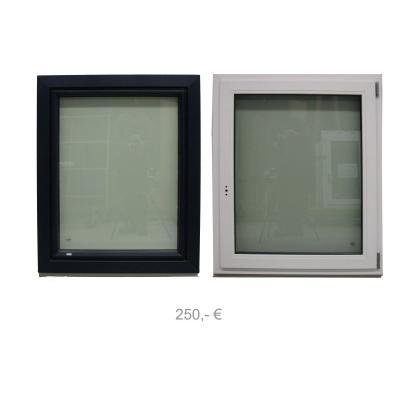 Kunststofffenster aussen Arcrylcolor blau innen weiss RC2 900 x 1100 - 250€