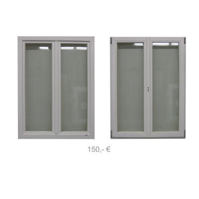 Holzfenster weiss 1020 x 1355 - 150€